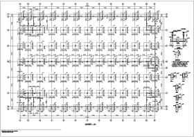 某地32米跨度三層鋼管桁架框架鋼結構施工圖紙