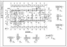某餐厅建筑全套设计CAD施工图