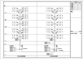 【北京】某18层高层住宅楼电气弱电智能化施工图纸,共114张(含入侵报警系统、视频监控系统等)