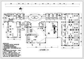 南方某地区两层幼儿园建筑设计图纸
