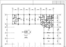某地二層磚混結構辦公樓結構施工圖
