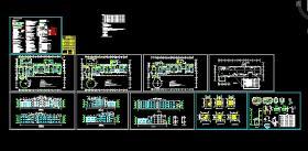 【精选】十二套12班幼儿园建筑施工图