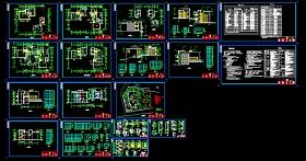 2018最新精选350多套新农村自建房样板房住宅别墅建筑设计CAD资料合集