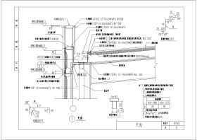 輕鋼結構廠房天溝節點構造詳圖(通用)