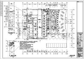 重庆某二层汽车4S店电气设计施工图