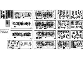 君领世纪-叠加型别墅施工图
