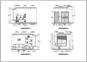 某三室两厅住宅装修设计施工图纸