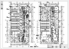 某地两层框架结构餐厅建筑设计施工图