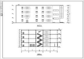 某城市中型商场建筑、结构设计施工图