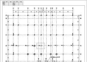 懷化市十五層部分框支剪力墻結構商住樓設計施工圖