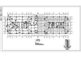 合肥市十九層(帶地下室)框架結構辦公樓結構施工圖