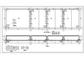 事故池、消防水池、循环水池、污水处理水池钢砼结构施工图纸