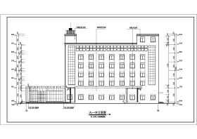 某地六层框架结构汽车客运站建筑施工图