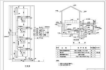 某工厂框架结构污水处理厂氧化沟设计图