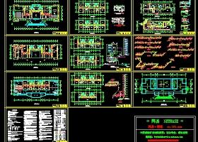 九层办公楼空调施工图