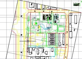 上海华盛国税园规划图及单体总体建筑图纸、整体效果图