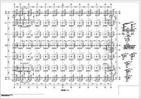蘇州某三層鋼管桁架框架結構廠房結構施工圖