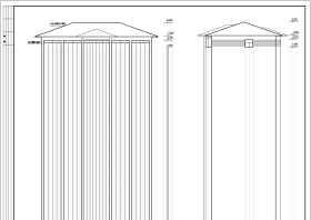 ?#36710;?#20108;层砖混结构办公楼建筑结构施工图纸