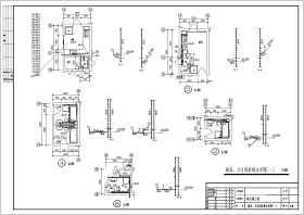 某地商住楼厨房和卫生间建筑给排水设计详图