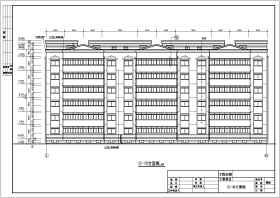 某8度帶地下室躍層磚混住宅結構施工圖