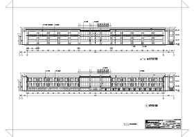 长安4层框架结构国际酒店平面布置图
