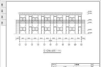 某施工工地活动板房详图初步设计方案图