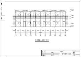某施工工地活動板房詳圖初步設計方案圖