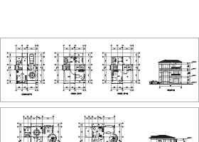 两层别墅方案图