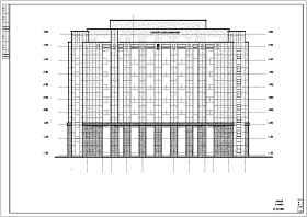 某地9层框架结构酒店建筑设计施工图