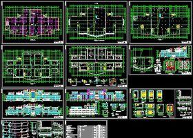 某商业广场全套建筑施工图