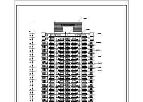 某地区32层高层商住楼建筑设计施工图
