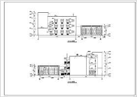 幼儿园建筑施工图
