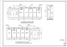 某大型商场10KV变电所电气设计施工图