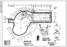厦门杏林某会所游泳池给排水、通风设计