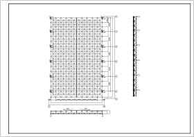 【北京】某大學體育館結構設計施工圖紙