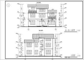 某别墅建筑和结构施工图(含结构设计说明)