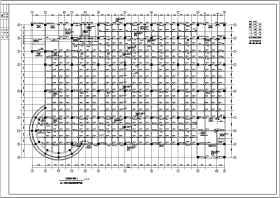 某大型超市三层框架结构设计施工图