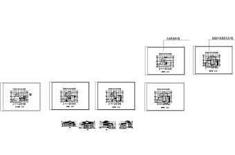 别墅图纸、效果图、3DMAX模型