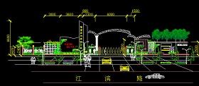 大门设计CAD图