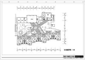 20种类型幼儿园平面设计图