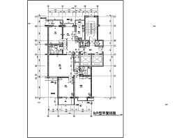 某小區高層住宅樓建筑戶型設計圖