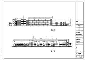 某地两层砖混结构幼儿园建筑方案设计图