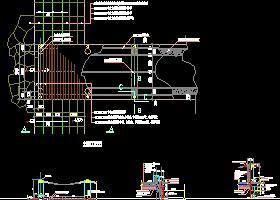 常用园林景观施工图7平台栈道
