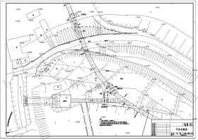 某水利工程排水箱涵及啟閉房結構鋼筋圖