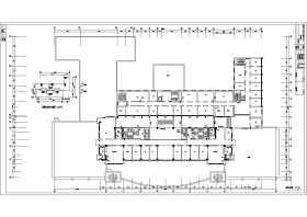 某单位十六层框架结构办公楼给排水消防设计图