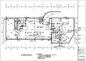 某酒店十四层框结构给排水消防设计图