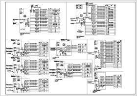[安徽]82米高层公共建筑强弱电竣工图(加压送风机排污水泵)