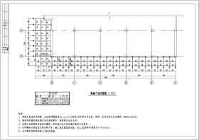 某大商場鋼結構玻璃雨蓬結構設計施工圖