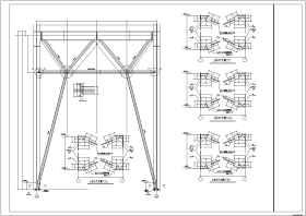 【西宁市】钢结构多层超市结构设计施工图