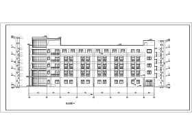 ?#36710;?层框架结构办公楼建筑设计扩初图